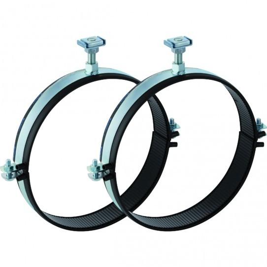 Комплект хомутов для труб Geberit Pluvia с электросварной лентой для анкерных опор