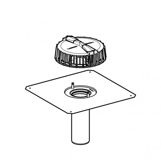 Воронка Geberit Pluvia с соединительным фартуком