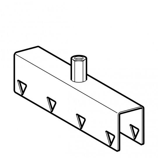 Соединительный элемент Geberit Pluvia для опорной шины квадратного сечения